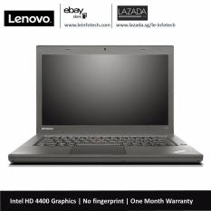 Lenovo ThinkPad T440 SSD Laptop 14in Notebook Intel Core i5 4th Gen 4300U 1.9Ghz 8GB RAM 160GB SSD Win 10 Pro Used