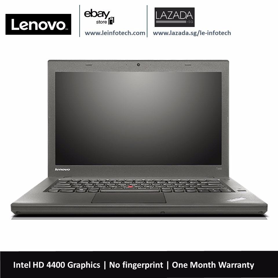 Lenovo ThinkPad T440 SSD Laptop 14in Notebook Intel Core i5 4th Gen 4300U 1.9Ghz 8GB RAM 160GB SSD Win 10...