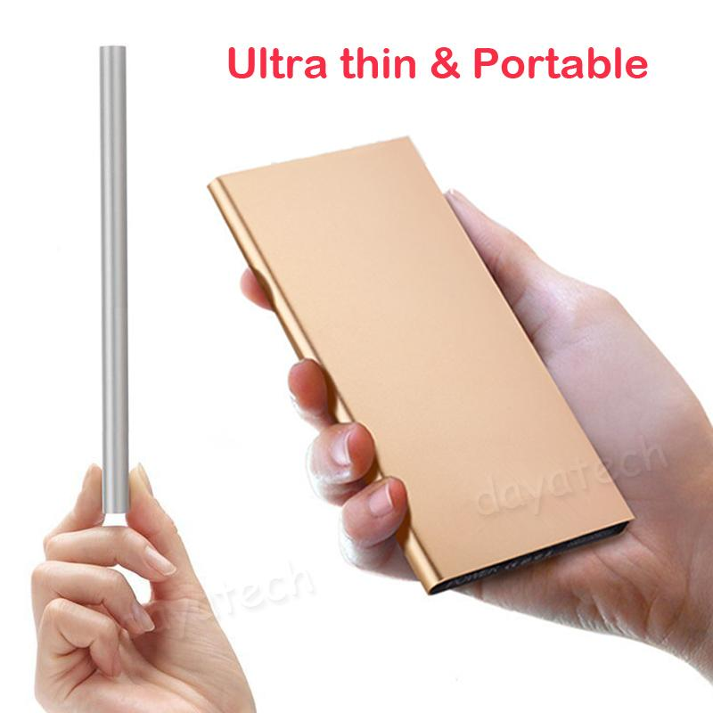 20000mAh High Capacity PowerBank / Ultra Slim Power Bank with LED Light Portable Quick Phone Charger Super Thin Expternal Backup...