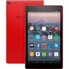 Amazon Fire HD 8 Tablet with Alexa, 8″ HD Display, 16 GB, Red (7th generation)