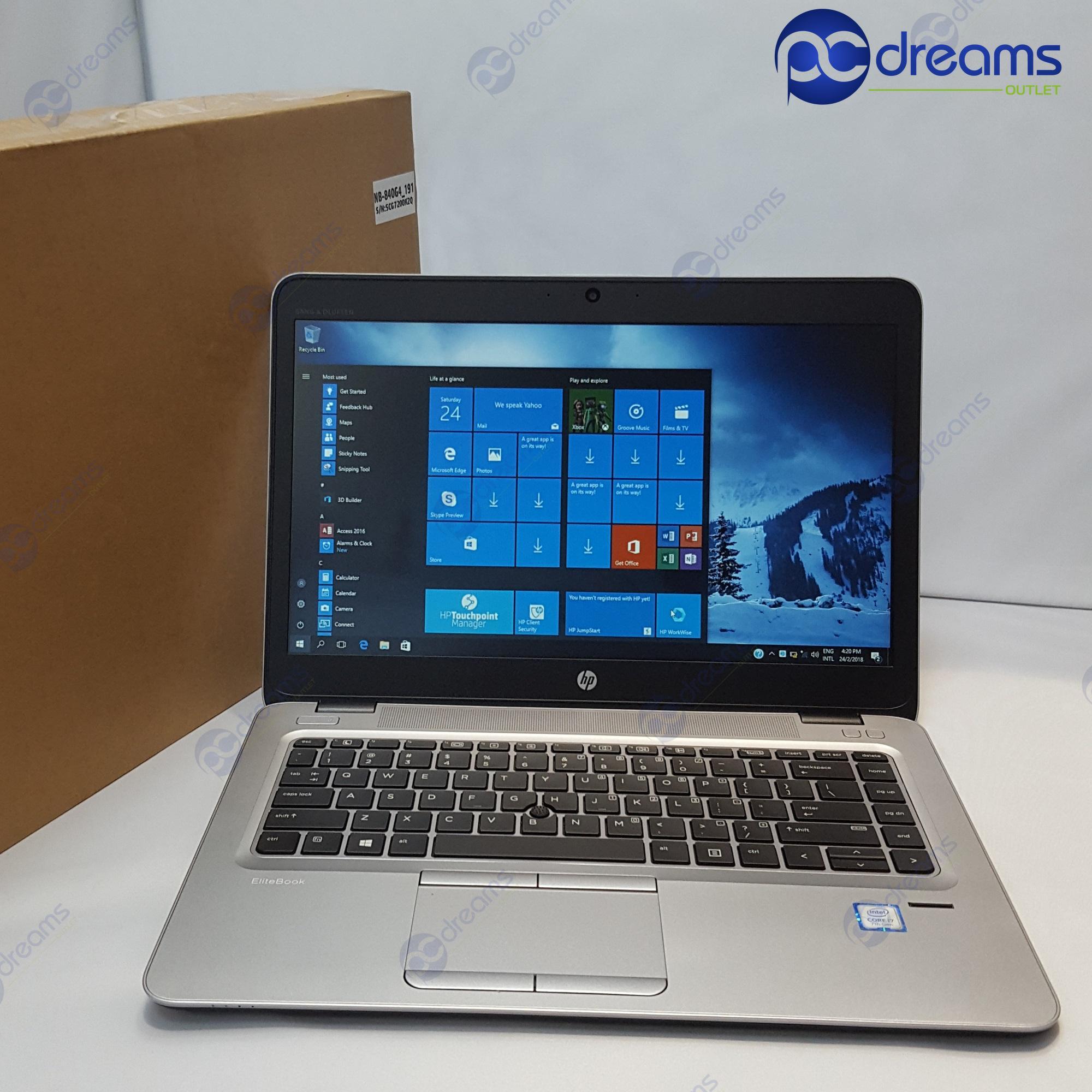 COMEX 2018! HP ELITEBOOK 840 G4 (X3V02AV) i5-7200U/8GB/500GB HDD [Premium Refreshed]