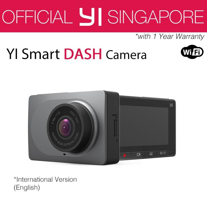 YI Smart Dash Camera (Grey)