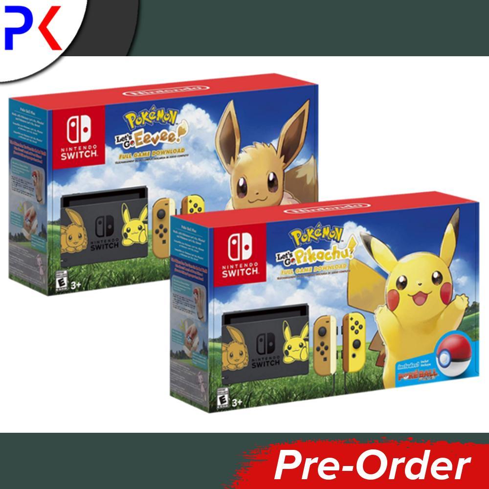 [Pre-Order] Nintendo Switch Console Pokemon Lets Go Edition + Free Labo Kit (Ships earliest 16 November)