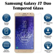 Samsung Galaxy J7 Duo Tempered Glass Screen Protector (Clear)