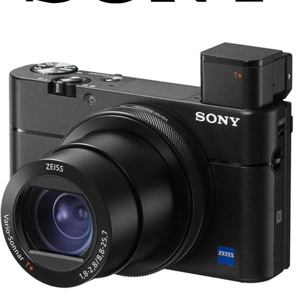 (Special Offer) Sony Cybershot DSC-RX100M5A Digital Camera (1x 64GB SD Card, 1x VCT-SGR1, 1x SONY CASE LCS-CSJ, 1x Screen Protector)