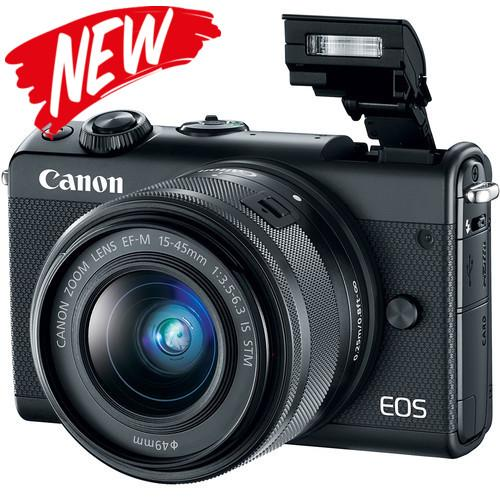 Canon EOS M100 + 15-45mm Lens