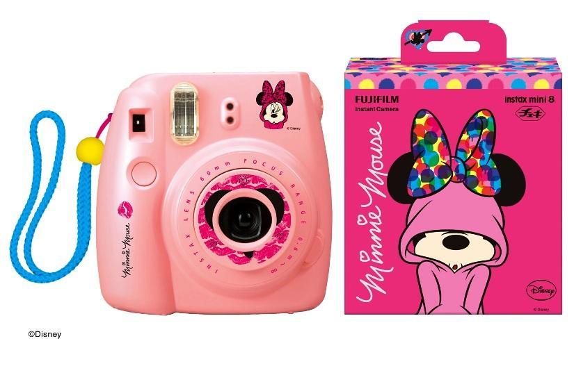 Fujifilm Instax Mini 8 Instant Camera (Pooh/Mickey)