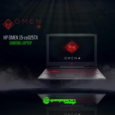 OMEN by HP Laptop 15-ce025TX (i7-7700HQ,128GB PCIe, GTX1050Ti 4GB) Gaming Laptop *COMEX PROMO*
