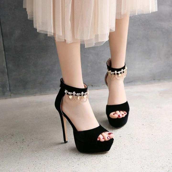 Mr/Ms~Crystal summer summer summer chain after sandals ~Customer First d8ebe2