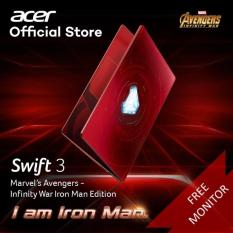 Acer Avengers Iron Man Limited Edition Swift 3 SF314-53G-59KS Thin and Light Laptop