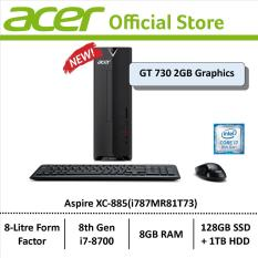Acer Aspire XC-885 (i787MR81T73) Mini-Desktop