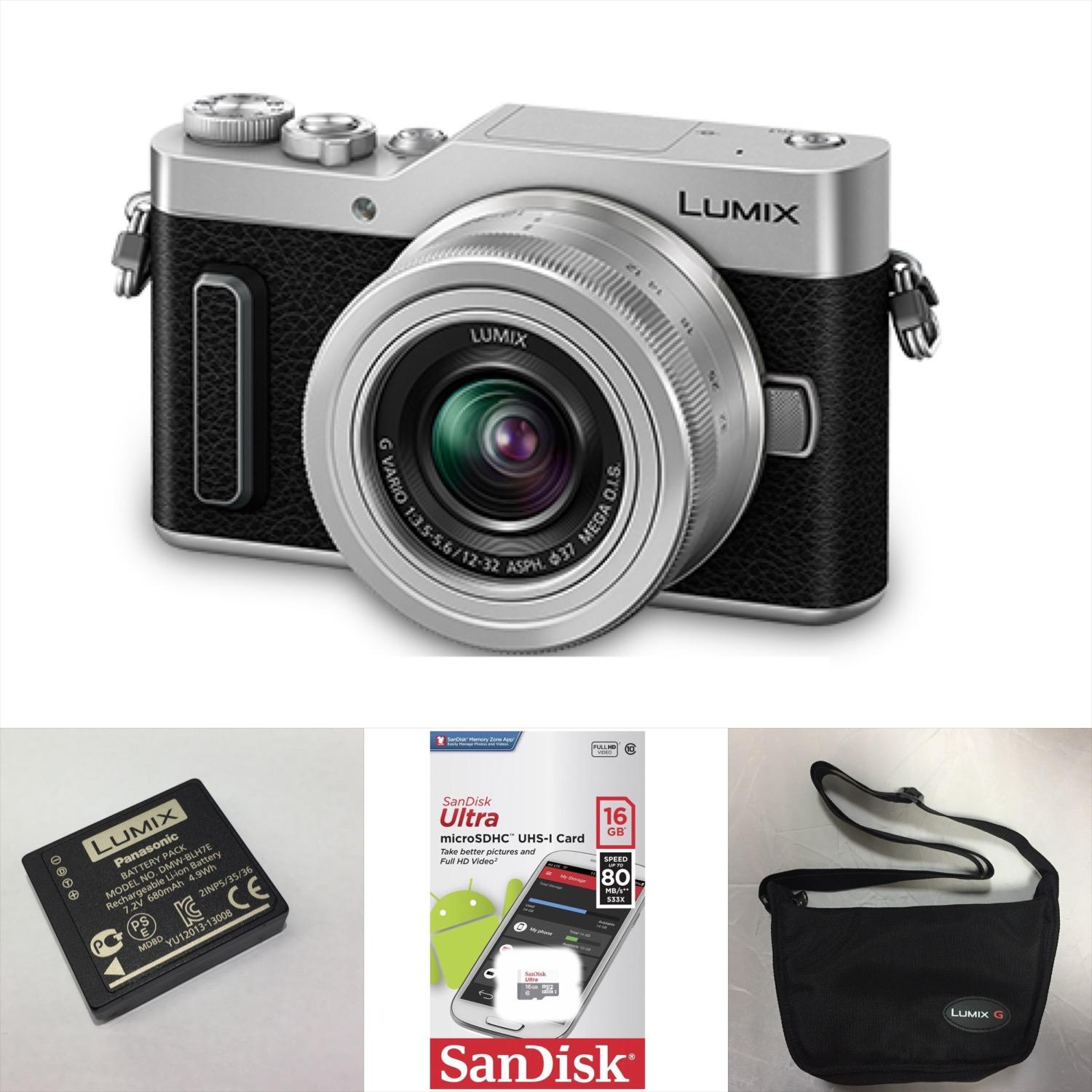 PANASONIC LUMIX DC-GF10 (SILVER) WITH 12-32MM LENS