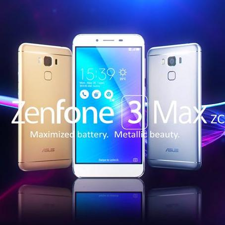 ASUS ZenFone 3 Max 5.5 (ZC553KL) 3GB Ram / 32GB - Local Set 1 Year Asus Warranty