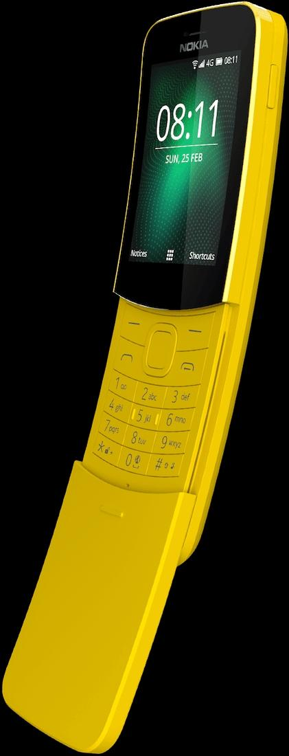 Nokia 8110 4G NEW MODEL (BANANA MODEL ) LOCAL SET