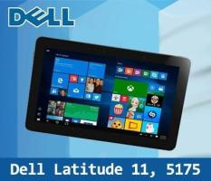 Refurbished Dell Latitude 11 5175 / 10.8 inch Laptop / Intel Core M Processor / 8GB RAM / 256GB SSD / Window 8 / One Month Warranty