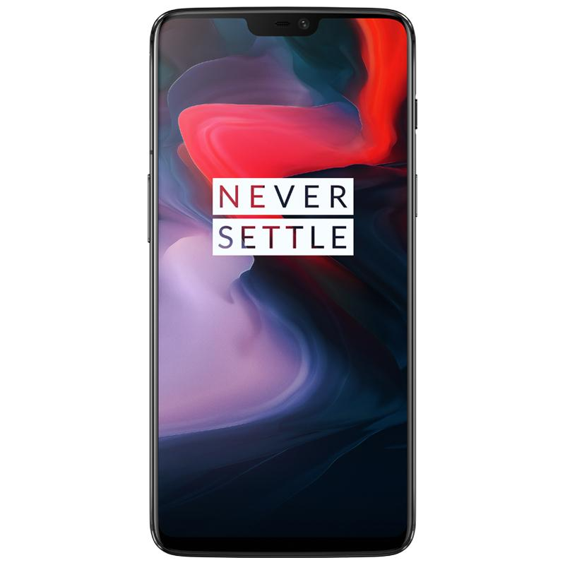 OnePlus 6 A6003 Mirror Black (6GB RAM+64GB ROM) - Free Gift With Bullets Wireless Worth $179.9