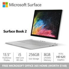 [SALE] Microsoft Surface Book 2 – 13.5″/Core i5/8gb/256gb + Office 365 Home Bundle
