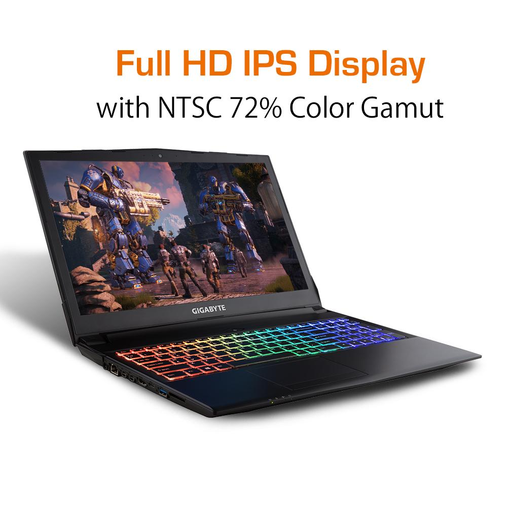 GIGABYTE Sabre 15-K8 Gaming Notebook [Ships 2-3 days]