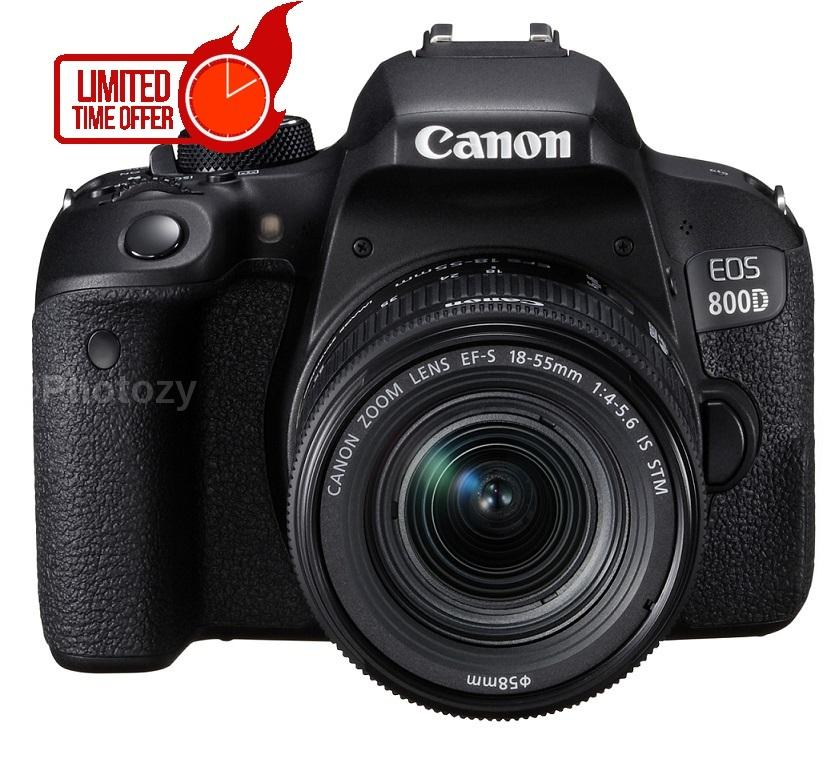 Canon EOS 800D + EF-S 18-55mm IS STM Lens