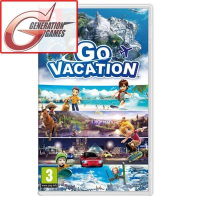 Nintendo Switch Go Vacation (English)
