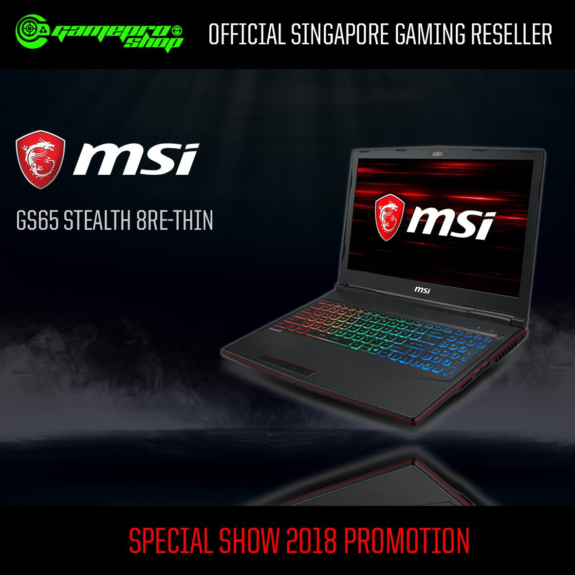 MSI GP63 Leopard 8RE-285SG (I7-8750H/8GB DDR4/128GB SSD/GTX1060) 15.6″ Gaming Laptop *10.10 PROMO*