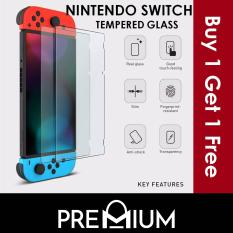 [BUY 1 FREE 1] Nintendo Switch Tempered Glass Screen Protector Film Guard Shield