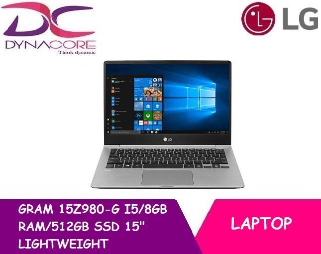 LG GRAM 15Z980-G I5/8GB RAM/512GB SSD 15″LIGHTWEIGHT LAPTOP