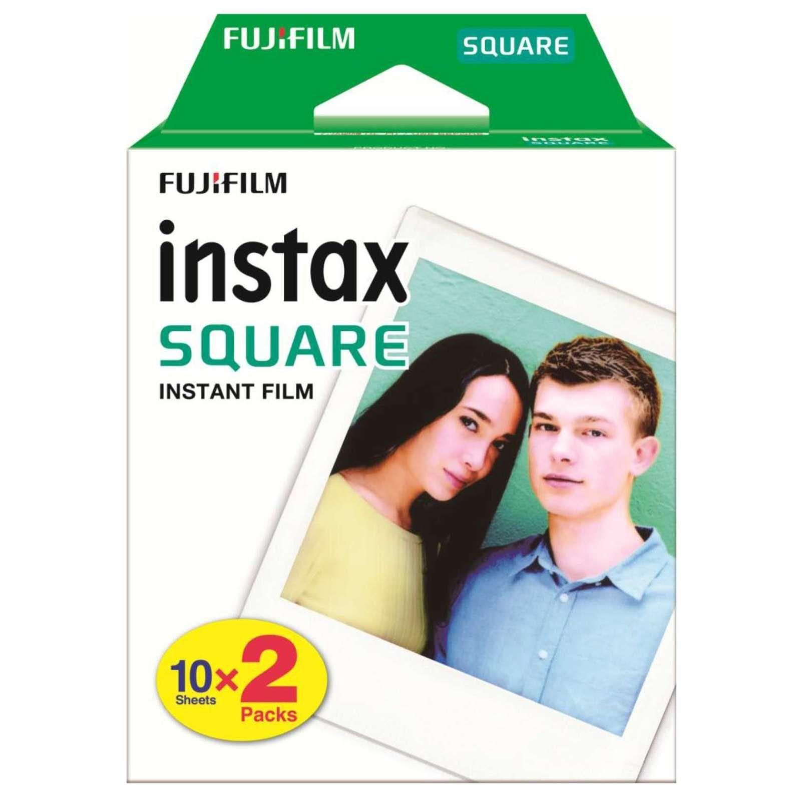 instax Square Film Twin Pack (20 Sheets)