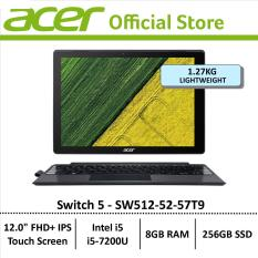Acer Switch 5 (SW512-52-57T9) 2 in 1 12″ FHD+ IPS Touch Laptop