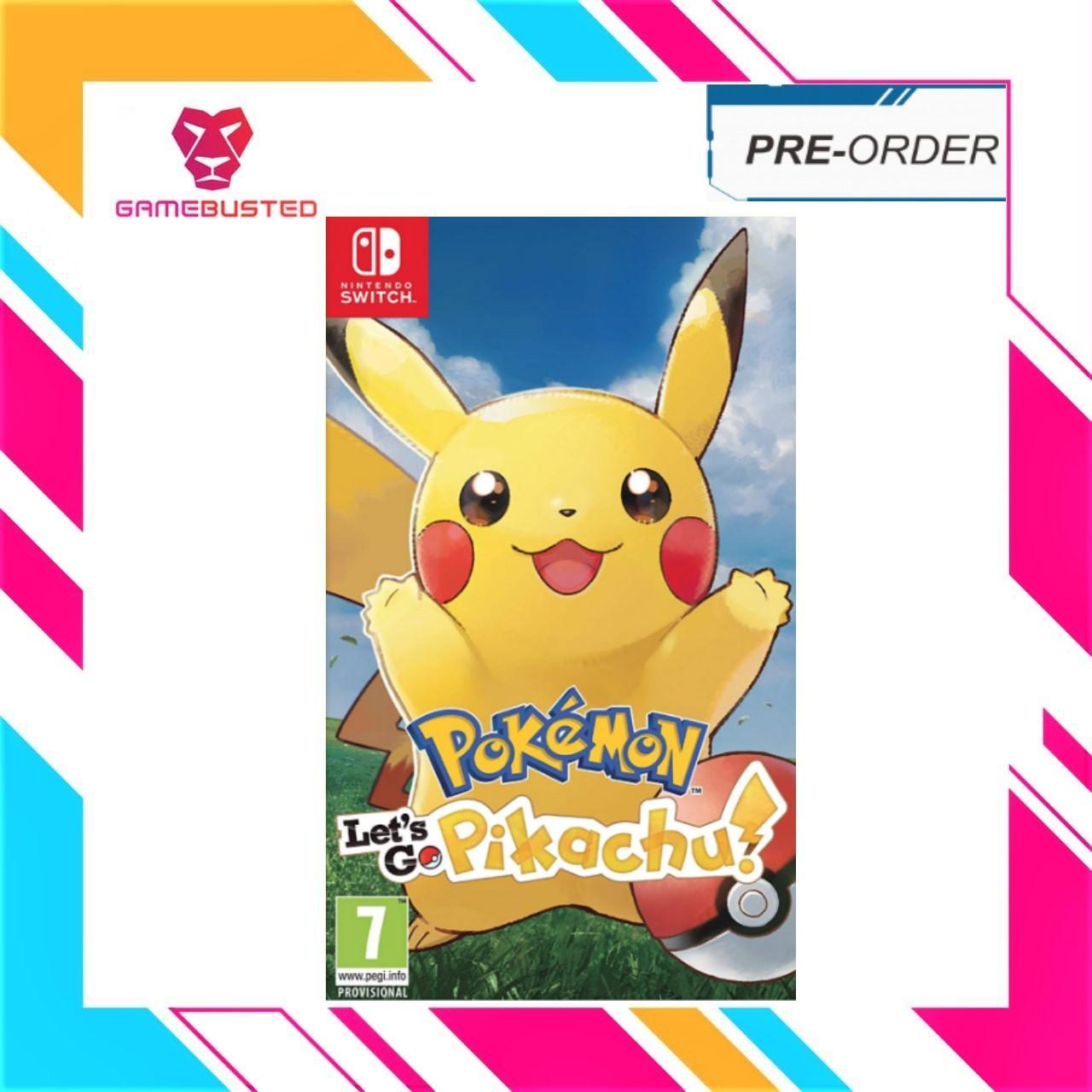 Nintendo Switch Pokemon Lets Go Pikachu (In Stock Now)