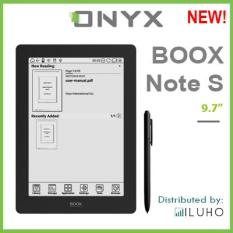 New! Onyx Boox Note S – 9.7″ Android E-ink Reader with Flexible Display