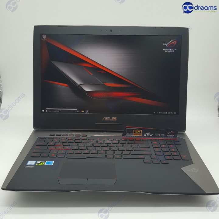 CHRISTMAS SALES! ASUS ROG G752VS-GB394T i7-7700HQ/16GB/256GB PCIe SSD+1TB HDD [Premium Refreshed]