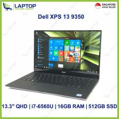 Dell XPS 13 9350 Touch Screen (i7-6560U/16GB/512GB SSD) @Thin & Light Original Warranty Deal Clearance@ Preowned [Refurbished]