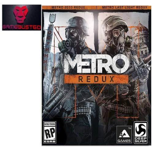 PC Metro Redux (2 Games in 1 box)