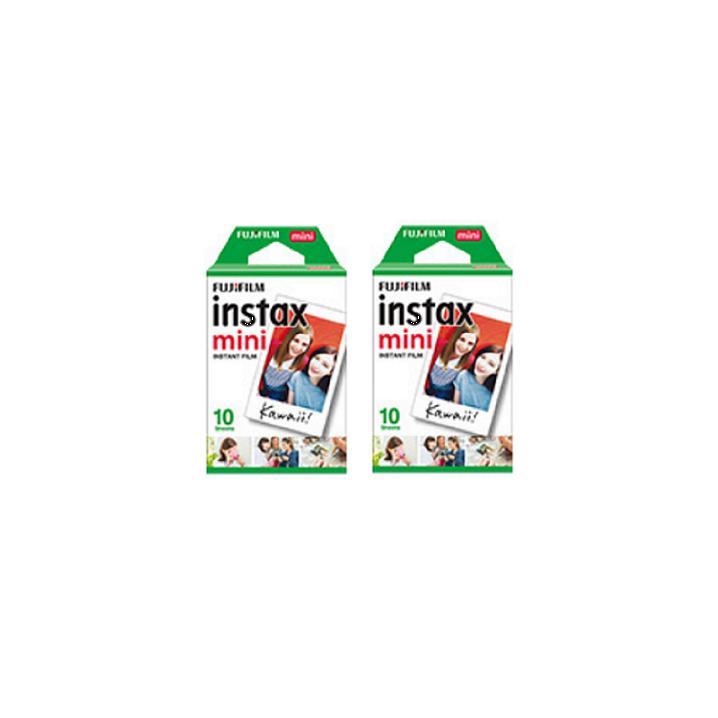 40 Sheets Fujifilm Instax Mini Twin Film (2 Twin Pack)