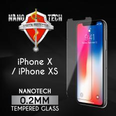 [Buy1Free1] Nanotech iPhone X/ XS Tempered Glass Screen Protector [0.2MM][Non-full Coverage]