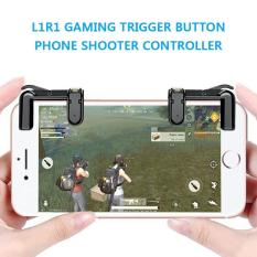 L1R1 Sharpshooter Gaming Trigger Fire Button Aim Key Phone Shooter Controller PUBG for Games on iPhone and Android
