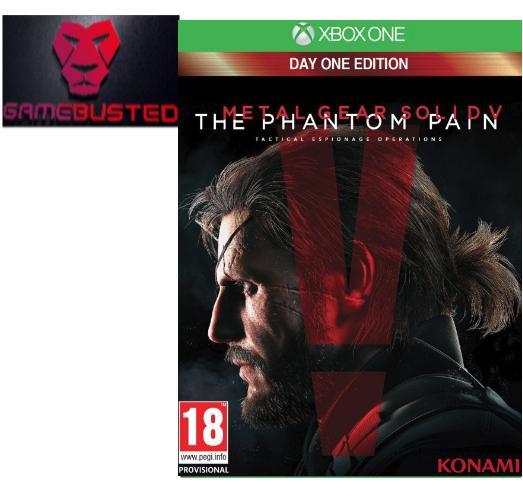 XBox One Metal Gear Solid V: The Phantom Pain (PAL)