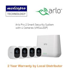 Arlo Pro 2 Smart Security System with 4 Cameras ( VMS4430P ) – Warranty by Local Distributor