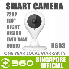 360 D603 Wireless IP Camera CCTV Home WiIFI Security Camera 720P 110° 7M Night Vision Baby Monitor