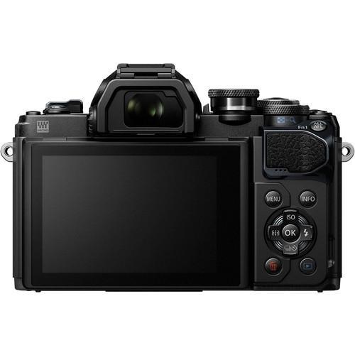 Olympus OM-D E-M10 Mark III Mirrorless Micro Four Thirds Digital Camera with 14-42mm EZ Lens (Black)