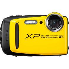 Fujifilm FinePix XP120 Waterproof Digital Camera (Yellow) Export