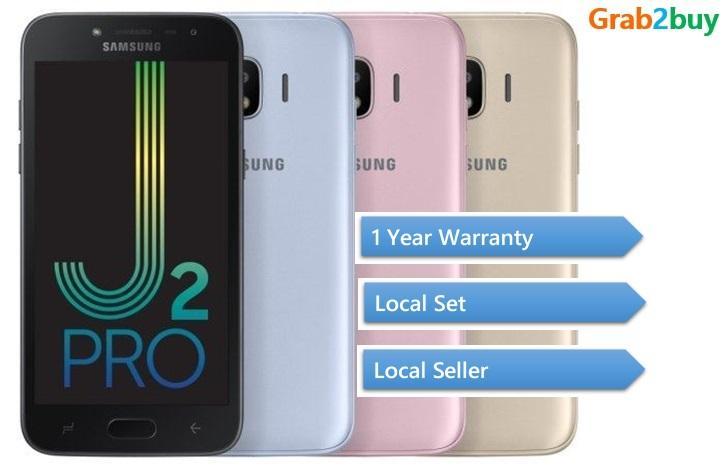 Samsung J2 Pro Local Set 1 Year Warranty