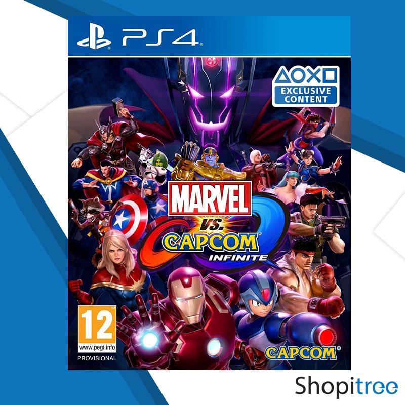 PS4 Marvel vs. Capcom: Infinite / R2 (English)