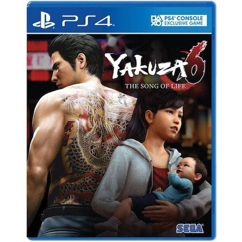 PS4 Yakuza 6 the Song Of Life(English Version)-AS(R3)(PLAS 10147)