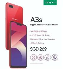 OPPO A3s (32GB) CPH1803 Phone (Local Set) 2 Years Warranty