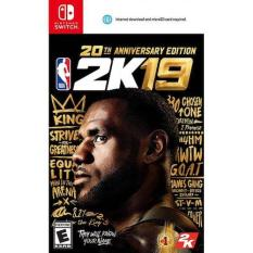 Pre-Order!!! Nintendo Switch NBA 2K19 [20TH ANNIVERSARY EDITION] (Ship earliest on 07 September 2018)