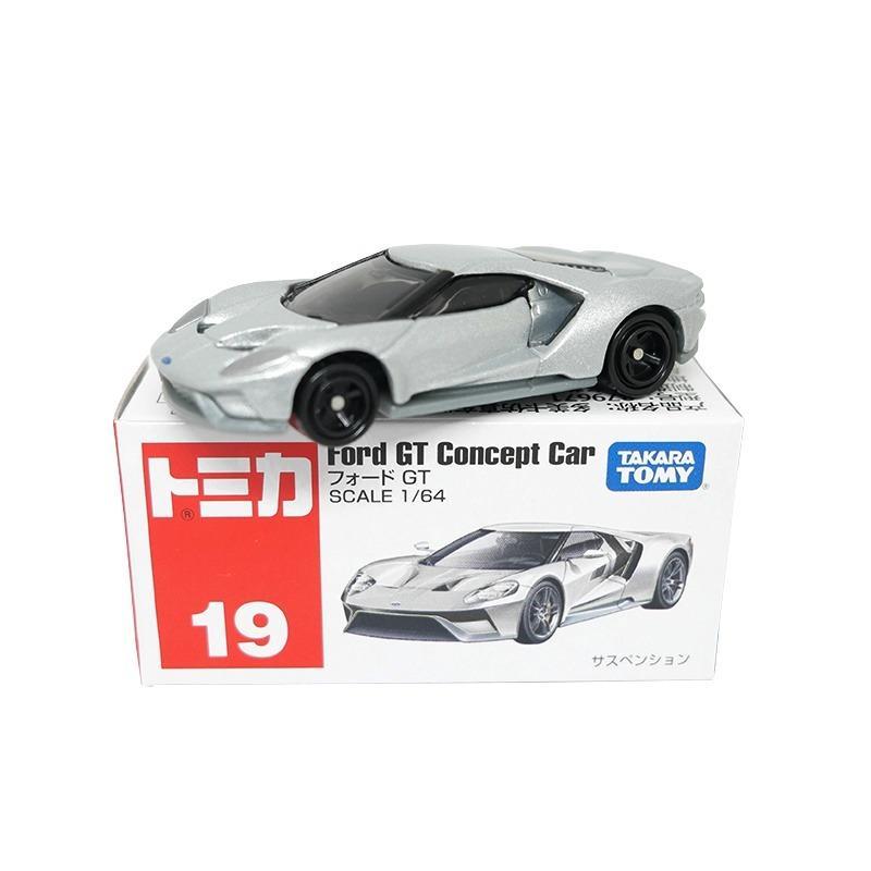 Takara Tomy Tomica No. 019 Ford GT Minicar Miniture Car Toy 2017 (Box)