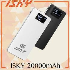 ISKY Powerbank 20000mAh Dual Port with LED Display Power Bank