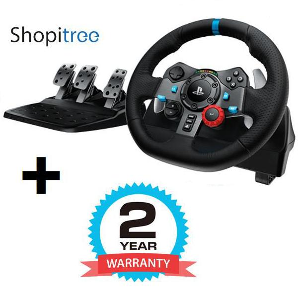 Logitech / G G29 Driving Force Steering Wheel (for PS4/PS3/PC) + 2 Years Warranty